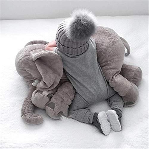 60 cm bébé infantile oreiller éléphant en forme d enfants jouet coussin pour bébé tête oreiller enfant nouveau-né sommeil coussin décoratif oreiller voiture