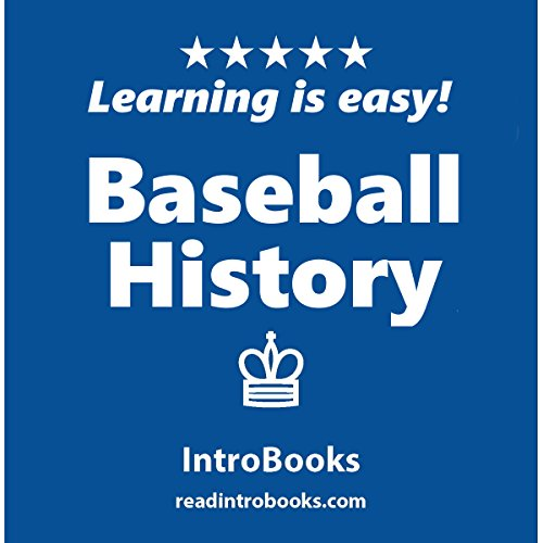 Baseball History audiobook cover art