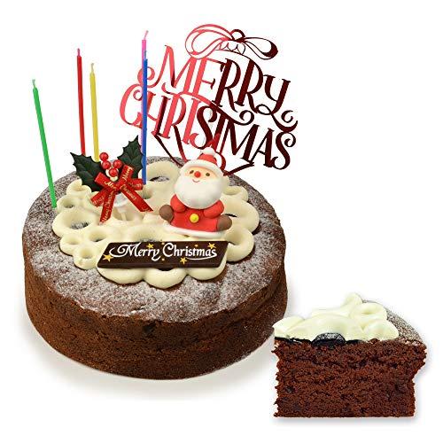 魔法洋菓子店ソルシエ ガトーショコラ クラシック 6号 直径18cm 6~8人分 【 クリスマスケーキ 】