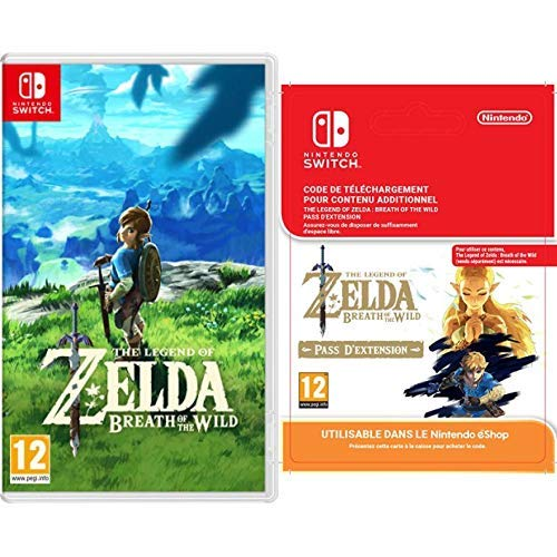 The Legend of Zelda : Breath of the Wild [Nintendo Switch] + Expansion Pass [Switch Download Code]