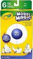 Crayola Model Magic Single Packs White (6 Single Packs) by Crayola