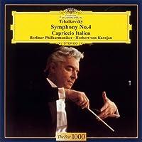 Herbert Von Karajan / Berlin Philharmonic Orchestra - Tchaikovsky: Symphony No.4 / Capriccio Italien [Japan LTD CD] UCCG-5054 by Herbert Von Karajan / Berlin Philharmonic Orchestra