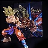 Peluca de Cosplay Figuras de Anime Dragon Ball Z Son Goku Kamehameha PVC Toys Super Saiyan Vegeta Modelo Colección Acción Figuros Goku Diorama Figma para la Fiesta