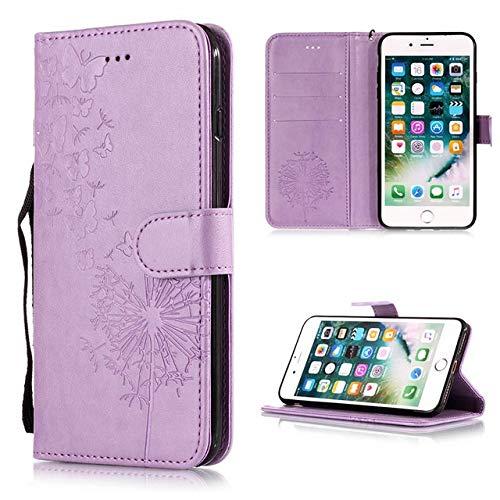 RZL Teléfono móvil Fundas para iPhone XS MAX, teléfono Volver Cubierta de la Carpeta del Caso del tirón para el iPhone XR X 5 5S 6S 8 7 Plus