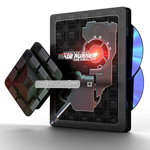 BLADE RUNNER Premium Steelbook Titans Of Cult 4K UHD Blu-Ray [Blu-Ray] [Region Free] (Audio español. Subtítulos en español)