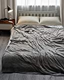 "Electric Large Heated Blanket Twin Size 62"" x 84"" Heating Throw with 4"