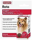 beaphar Reto Durchfalltabletten, zur Behandlung von Durchfall und Verdauungsbeschwerden bei Hunden, 30 Tabletten