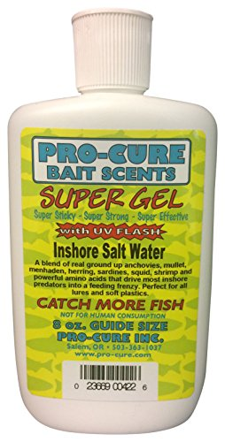 Pro-Cure Inshore Salt Water Super Gel, 8 Ounce