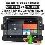 Android 9.0 Quad Core System 17,8 cm lettori DVD per Renault Dokker Dacia Duster Logan Sandero con autoradio GPS Navigation radio stereo Bluetooth SD USB Mirror Link touch screen