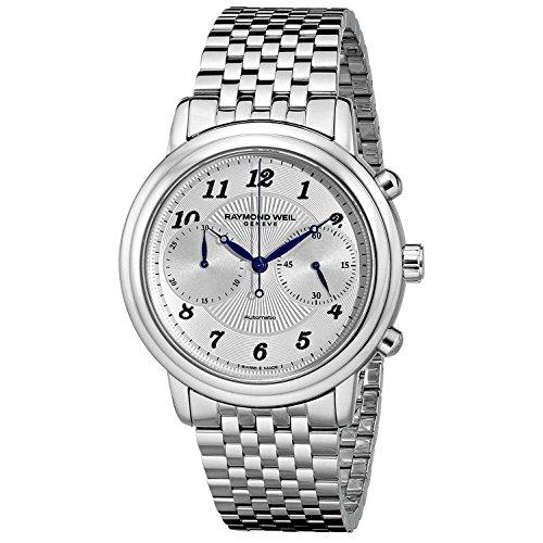 Raymond Weil Maestro Orologio da polso uomo 41mm Cronografo svizzero automatico 4830della St di 05659