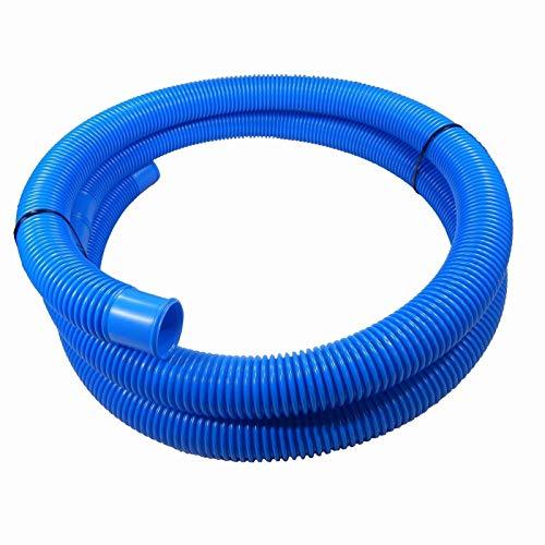 Schlauch24 6 Mètres DE Tube Tuyau Piscine Solaire Flexible Tuyau Ø 38 mm Couleur : Bleu