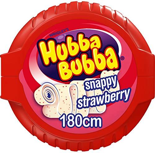 Hubba Bubba Bubble Tape Strawberry 12 Stk