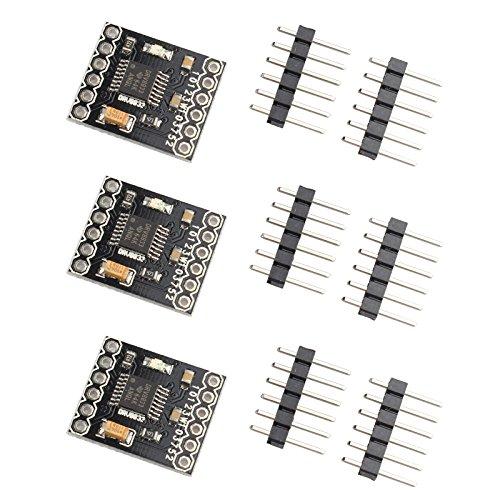 HALJIA 3pcs DRV8833 1.5 A 2 canale H ponte DC Gear Motor driver modulo Compatibile con stampante 3D