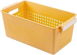 LCM 3 Couleurs Panier Plastique Portable Panier de Salle de Bain Cuisine rectangulaire Snacks paniers de Rangement Organis...