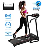Finether Running Machines Motorised Treadmill Folding Running Jogging Walking Run Machine for Home