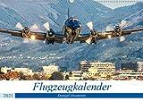 Flugzeugkalender (Wandkalender 2021 DIN A2 quer)