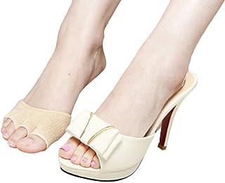 Youtei(ヨーテイ) 【3足セット】 つま先 5本指 コットン ソックス 蒸れない 履きやすい 指出し 靴下 レディース