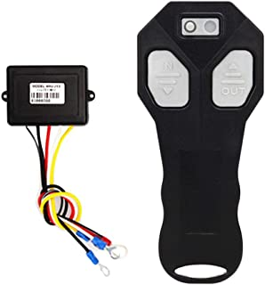 RUNGAO Wireless Winch Remote Control Kit Switch Handset DC12V for Car ATV SUV UTV Truck Auto
