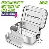 SHINYO Personalisierbar Auslaufsicher Edelstahl Brotdose, Personalisiert Bento Box...