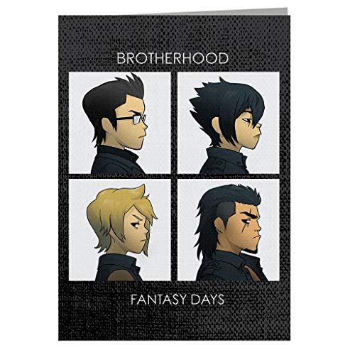 Final Fantasy Brotherhood Days Greeting Card