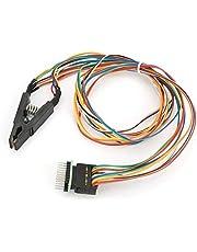 Clip de Prueba del Programador SOP16, Pinza de Prueba IC de 16 Pines SOIC16 SOP16 a Clip de Flash DIP8
