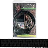 Jakt Gear My Sling-A-Ling Magnetic Paracord Bow Sling + Magnetic Wrist Sling Combo Pack (Black)