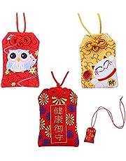 Bolsa De Bendición La Suerte Amuleto Japonés Amuleto De La Suerte Japones Tradicional Japonesa Bolsa De Bendición Japonesa para Salud La Educación Ama La Seguridad La Riqueza