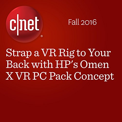 Strap a VR Rig to Your Back with HP's Omen X VR PC Pack Concept cover art