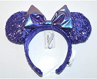 Minnie Mouse Purple Sequined Ears Headband