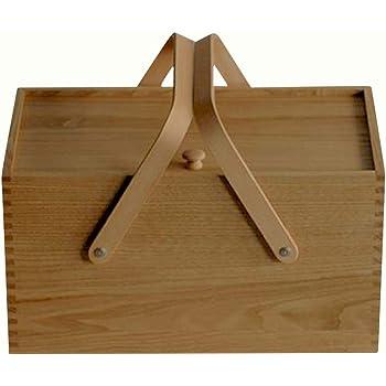 倉敷意匠計画室 栗のソーイングボックス 木製 裁縫箱 日本製