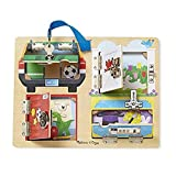 Melissa & Doug- Lock and Latch Board Juego con Cerraduras, Multicolor (19540) , color/modelo surtido