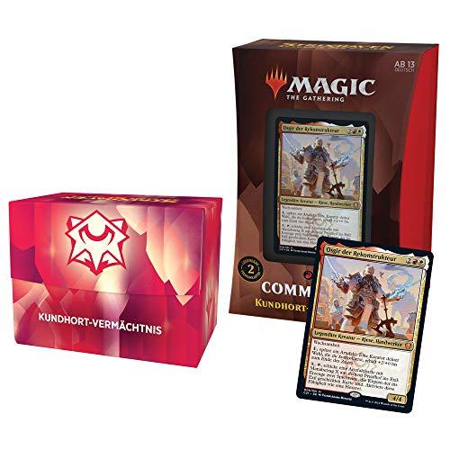 Magic: The Gathering Strixhaven-Commander-Deck– Kundhort-Vermächtnis (Rot-Weiß) -Deutsche Version