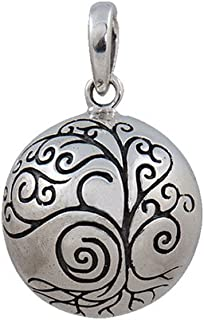Fourseven 925 Sterling Silver Pendant | Maa Harmony Ball Pendant for Necklace
