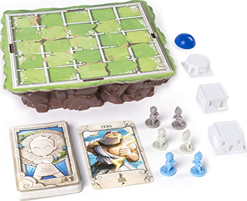 Spin Master Games Santorini Strategy Based Family Board Game for Kids & Adults, Ages 8+, Up to 6 Players