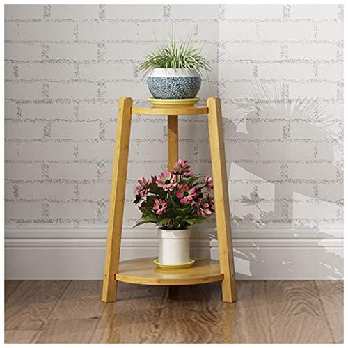 xiuxiu Mode Simple Support De Fleurs Multi-couche À L'intérieur Des Plantes Succulentes Creative Pot De Fleur Cadre Économiser L'espace Balcon Décoration En Bois Massif Grand Petit Dans Le Support