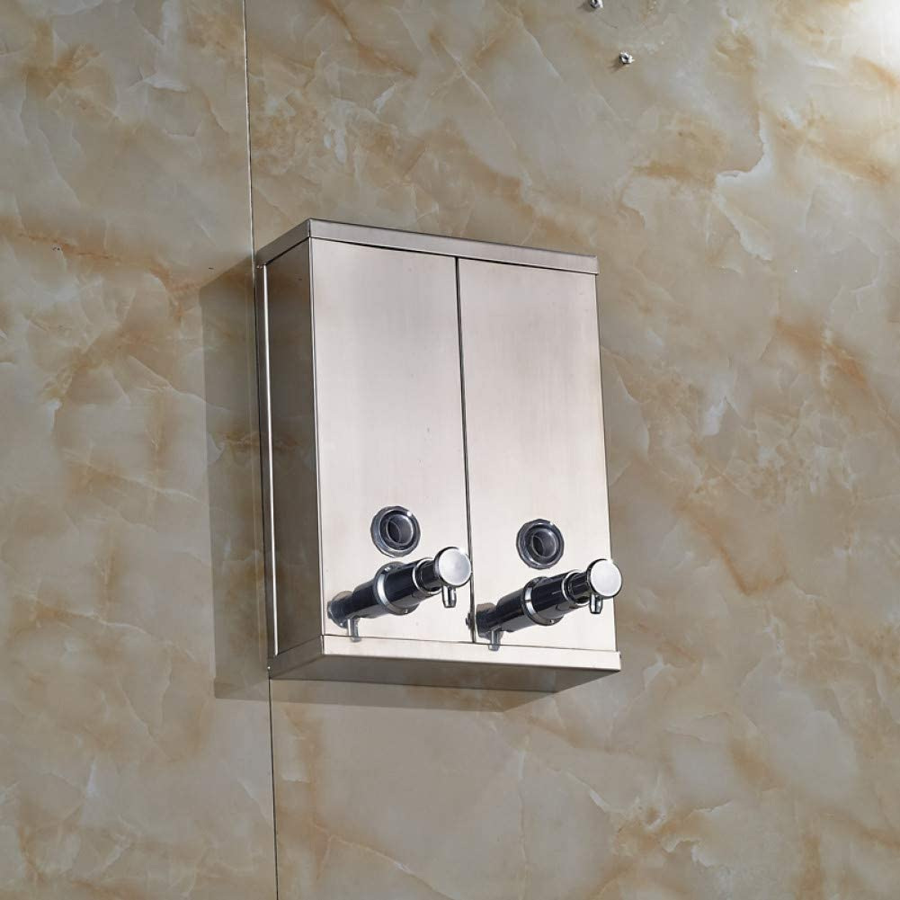 YHSGY LotionAmp;Soapdispensers Chrome Albuquerque Mall Stainless Ultra-Cheap Deals Steel Moun Wall