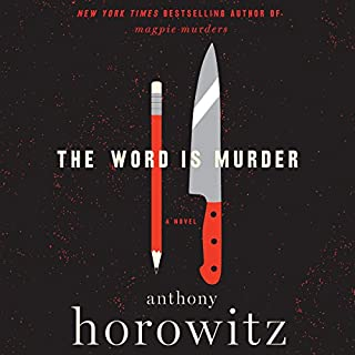 The Word Is Murder audiobook cover art