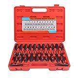 Rehomy Kit de herramientas de liberación de terminales de 23 piezas – Kit de herramientas de extracción universal de automoción