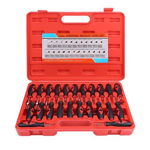 23 tlg Universal Auto Entriegelungswerkzeug Kabelverbinder Auspinwerkzeug Lösewerkzeug für KFZ