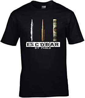 Escobar by Pablo T-Shirt Narcos Inspired Drug Lord tee Cartel Mens & Ladies