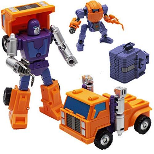 SUOTENG Transfórmers tóys, Transformation MS-02 Engineer Mini Pocket War pioneer Action Figure Robot Toys
