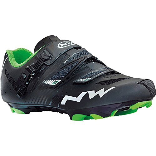 Northwave 2015 Men's Hammer SRS Mountain Bike Shoe - 80142003-12 (Matte Black - 45.5)