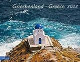 Griechenland Kalender 2022 | Wandkalender Griechenland im Großformat (58 x 45,5 cm): Greece 2022.: Greece 2021. Großformat-Kalender 58 x 45,5 cm