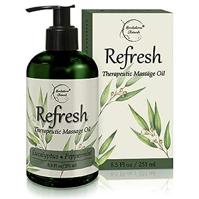 Refresh Therapeutic Massage Oil