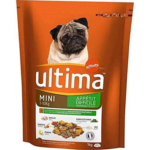Ultima - Pienso para perro con sabor pollo y verduras (1 kg, 3 unidades)