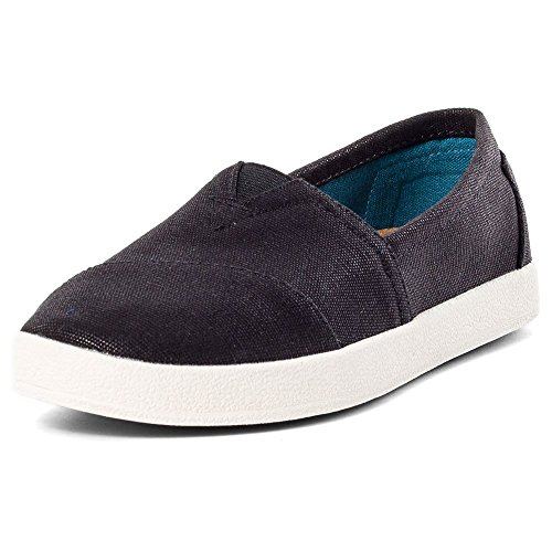 TOMS Damen Women Avalon Espadrilles, Schwarz (Black Coated Canvas 000), 36.5 EU