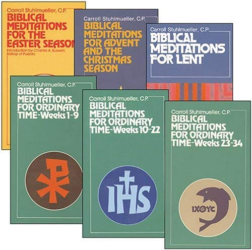 Compare Textbook Prices for Biblical Meditations For Ordinary Time: Complete Set  ISBN 9780809126958 by Stuhlmueller, Carroll