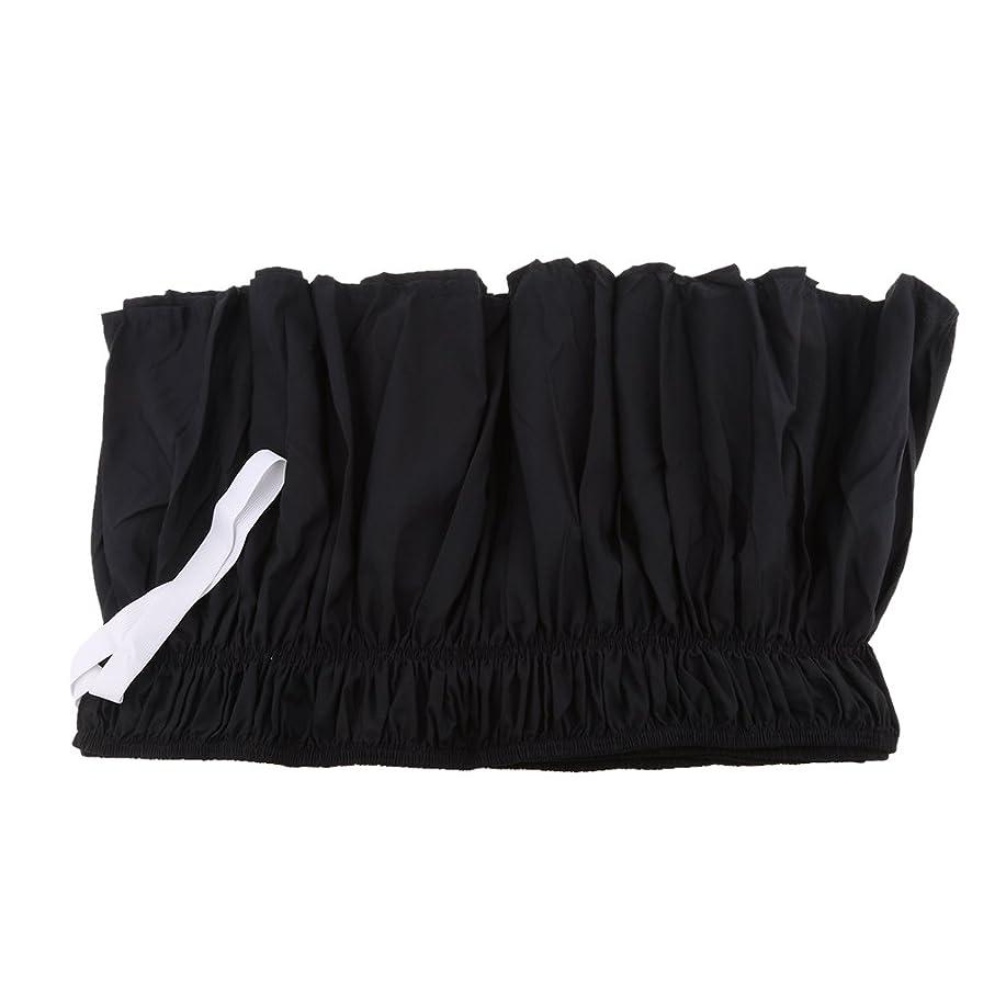 三十スキー服を片付けるPETSOLA 弾性バンドベッドスカート 雰囲気アップ 四季適用 可愛いプリンセス風 フリル 高製感全5色4サイズ - ブラック, 150cmx200cm + 38cm