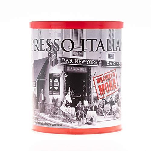 Caffé New York Kaffee Espresso Macinato MOKA 250g Dose gemahlen