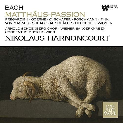 Nikolaus Harnoncourt, Concentus Musicus Wien, Christoph Prégardien & Matthias Goerne
